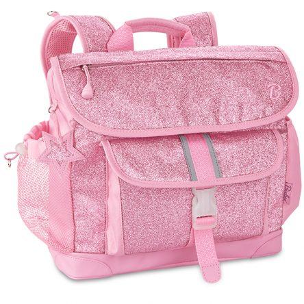 Bixbee Backpack - Medium - Sparkalicious Glitter Pink