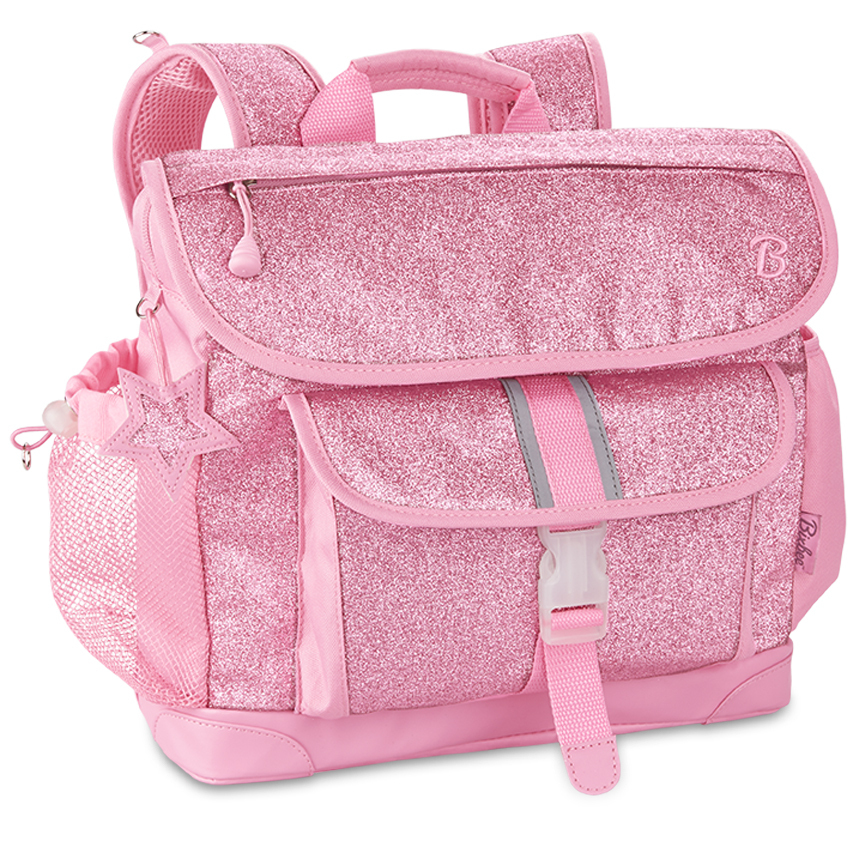 Bixbee Backpack - Medium - Sparkalicious Glitter Pink