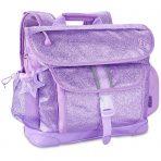 Bixbee Backpack - Medium - Sparkalicious Glitter Purple
