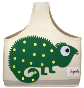 3 Sprouts Organic Storage Caddy - Iguana