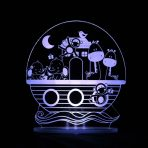 My Dream Light Childrens LED Night Light - Noah's Ark