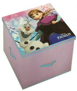Disney Frozen Anna & Olaf Storage Toy Box 33cm