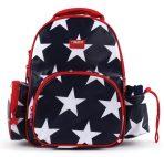 Penny Scallan Medium Backpack - Navy Star