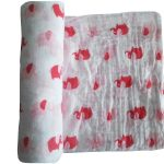 Urban Products Muslin Wrap - Pink & Red Elephant