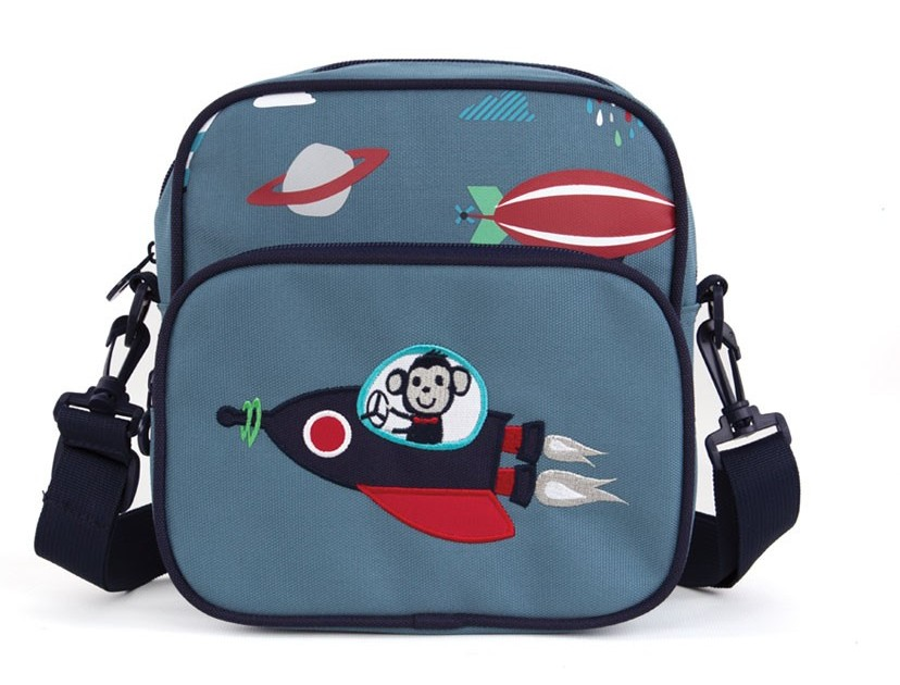 Penny Scallan Junior Messenger Bag - Space Monkey
