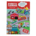Tiger Tribe Magnetic Play Book - Transport in the City