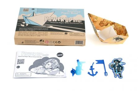 PowerUp Boat - Powered Paper Boat Conversion Kit