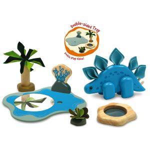 I'm Toy Dino Marina Set with Stegosaurus
