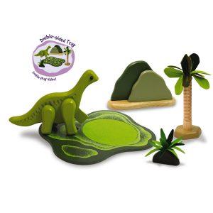 I'm Toy Dino Savannah Set with Brachiosaurus