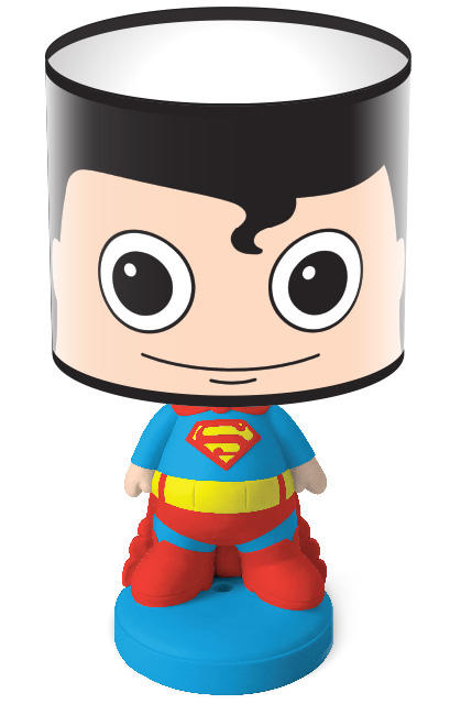 Superman Headlamp Hero Bedside Lamp