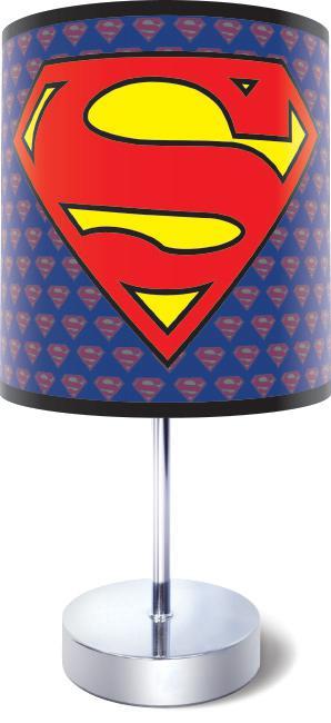 Superman Logo Bedside Lamp