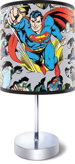 Superman Comic Strip Bedside Lamp