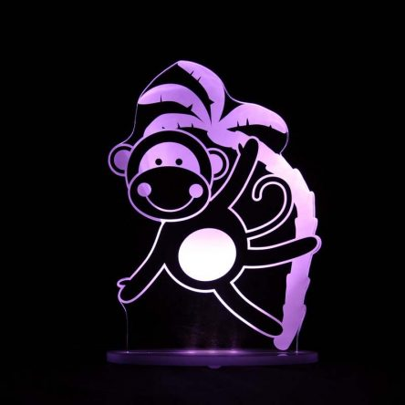 My Dream Light Childrens LED Night Light - Monkey