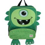 Nuby Junior Backpack & Lunch Bag - iMonster Green