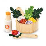 I'm Toy Wooden Salad Bowl Set