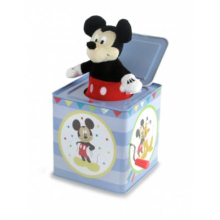 Disney Mickey Mouse Musical Tin Jack in The Box