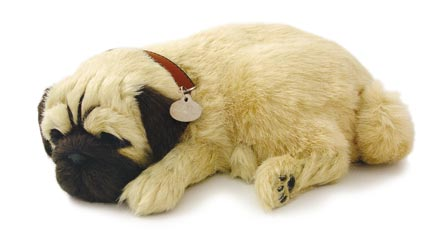 perfect petzzz pug perfect petzzz breathing sleeping toy puppy pug baby 9976