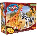 Bloco Foam Building Set - Savannah Animals 350pc