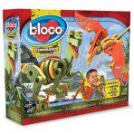 Bloco Foam Building Set - Velociraptor & Pterosaur Dinosaur 166p