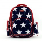 Penny Scallan Large Backpack - Navy Star
