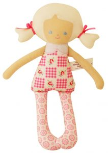 Alimrose Designs Martha Doll Rattle - Marshmallow 26cm
