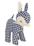 Alimrose Designs Baby Deer Rattle Toy - Houndstooth