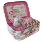 Tiger Tribe Vintage Childrens Tin Tea Set 15pc - Rainbow Hills