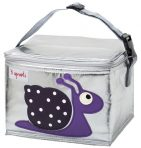 3 Sprouts Insulated Lunch Bag - Snail