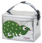 3 Sprouts Insulated Lunch Bag - Iguana