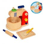 I'm Toy Wooden Food Mixer & Baking Set