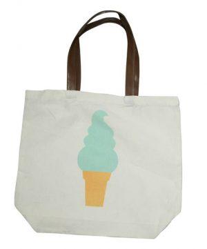 EDC Canvas Tote Bag - Ice Cream