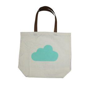 EDC Canvas Tote Bag - Cloud