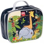 Bobble Art Insulated Lunch Bag / Box - Jungle