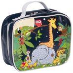 Bobble Art Insulated Lunch Bag / Box - Jungle