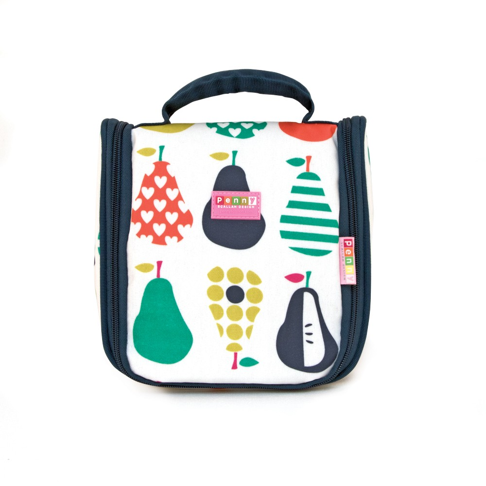 Penny Scallan Toiletry Bag - Pear Salad