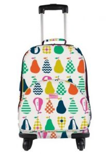 Penny Scallan 4 Wheel Spinner Suitcase Luggage Bag Pear Salad