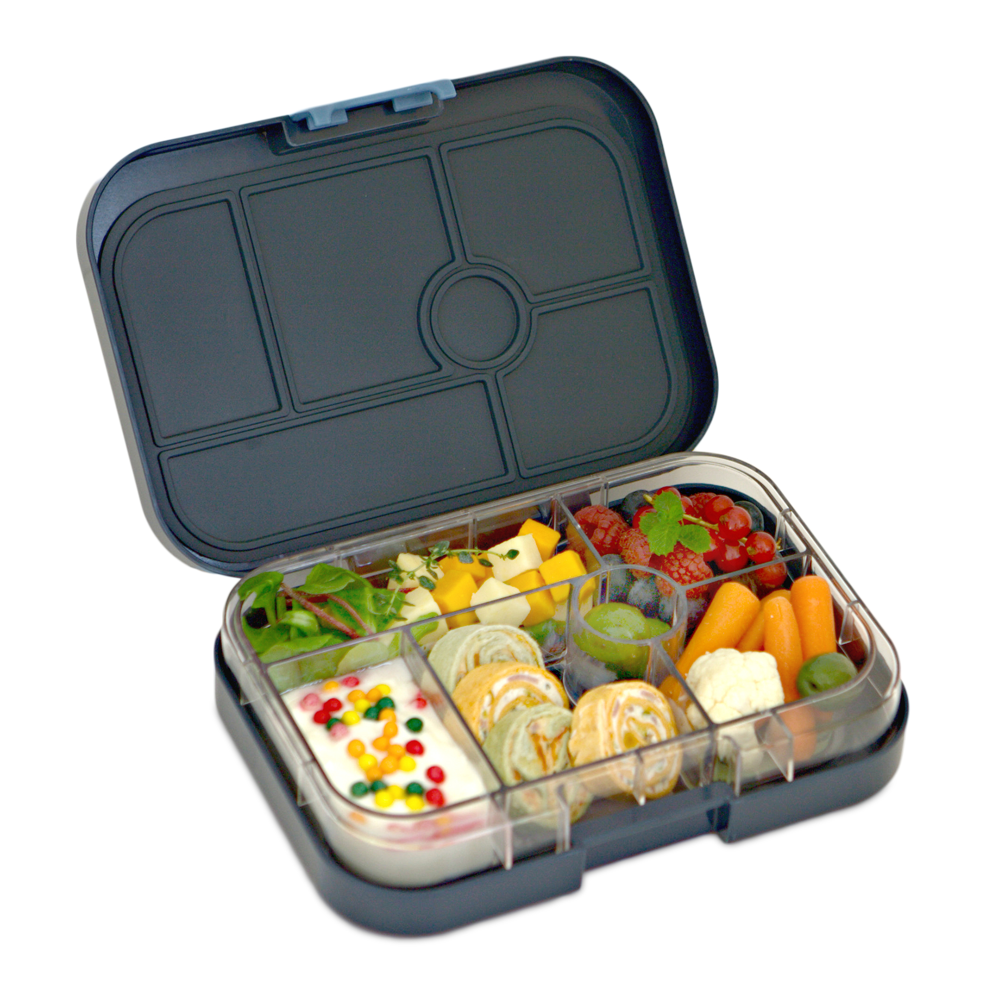 yumbox original lunch box espace blue. Black Bedroom Furniture Sets. Home Design Ideas