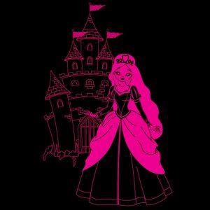 My Dream Light Childrens LED Night Light - Princess
