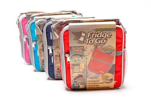 Fridge To Go MEDIUM Insulated Lunch Bag Box