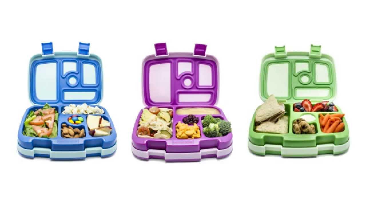 bentgo kids children 39 s bento lunch box green. Black Bedroom Furniture Sets. Home Design Ideas
