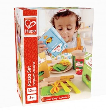 Kleinkindspielzeug Hape Pasta-Set