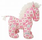 Alimrose Designs Jointed Toy Pony - Marshmallow Check