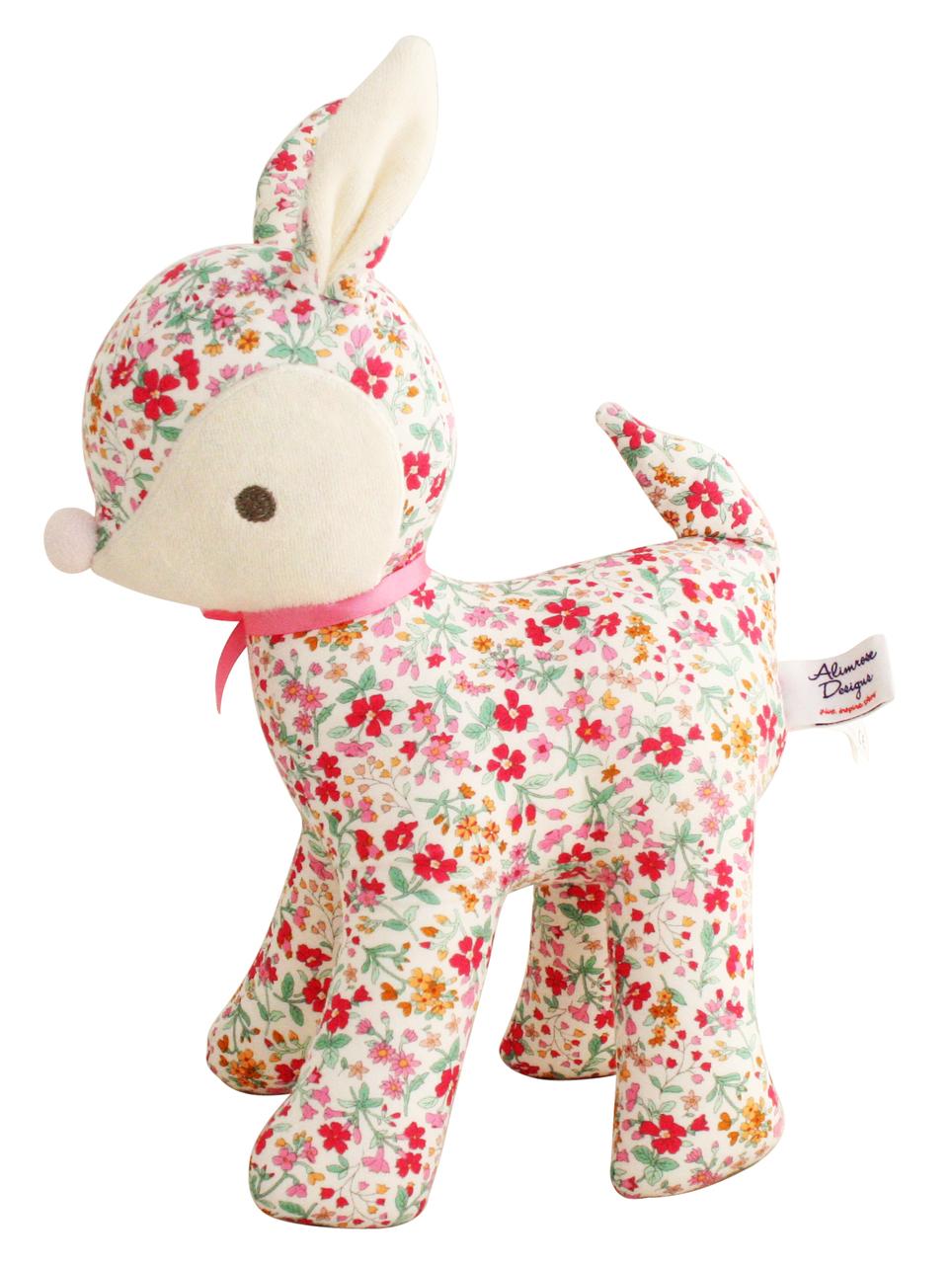 Alimrose Designs Toy Deer - Flower Bouquet