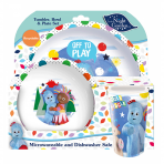 In The Night Garden 3pc Dinner Set - Plate, Bowl & Cup