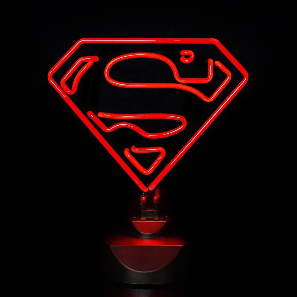 Great Superman Neon Lamp