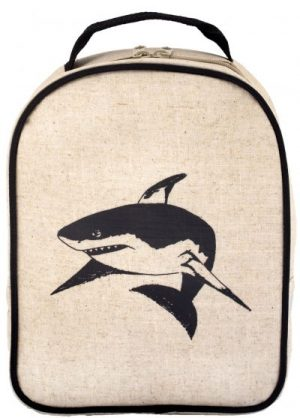 So Young Toddler Backpack & Insulated Lunch Bag Set  Black Shark