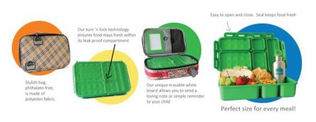Go Green Lunch Box Set - Butterfly