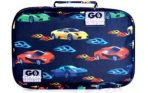 Go Green Lunch Box Set - Fast Flames Cars
