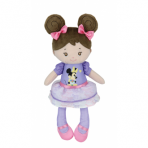 Disney Baby Rag Doll with Minnie Mouse Dress - Brunette