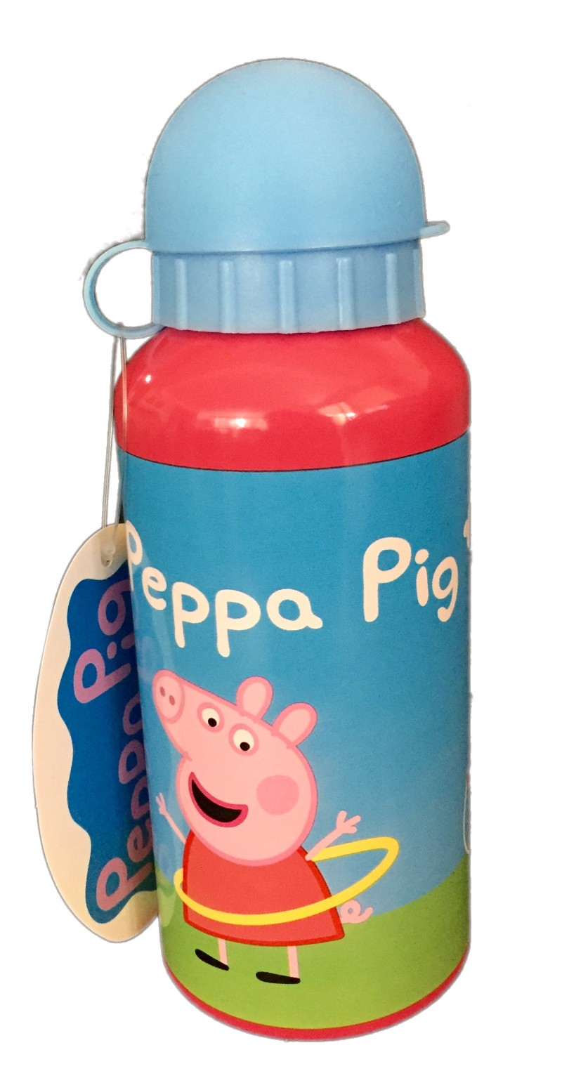 Peppa Pig Aluminium Drink Bottle 400ml